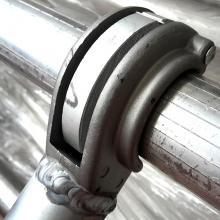 Ponteggio in alluminio Argo plus 4 campate con base aggancio rapido