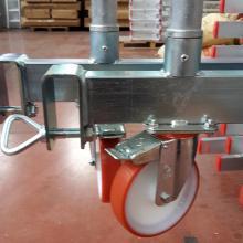 Ponteggio in alluminio Argo plus 4 campate - base