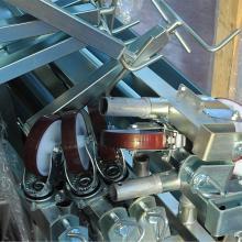 Ponteggi in alluminio Argo plus 1 campata  con base - ruote e livellatori